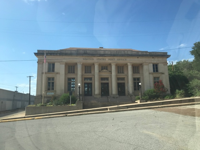 picture of old historic post office