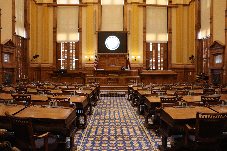 Georgia State Capitol Senate chamber
