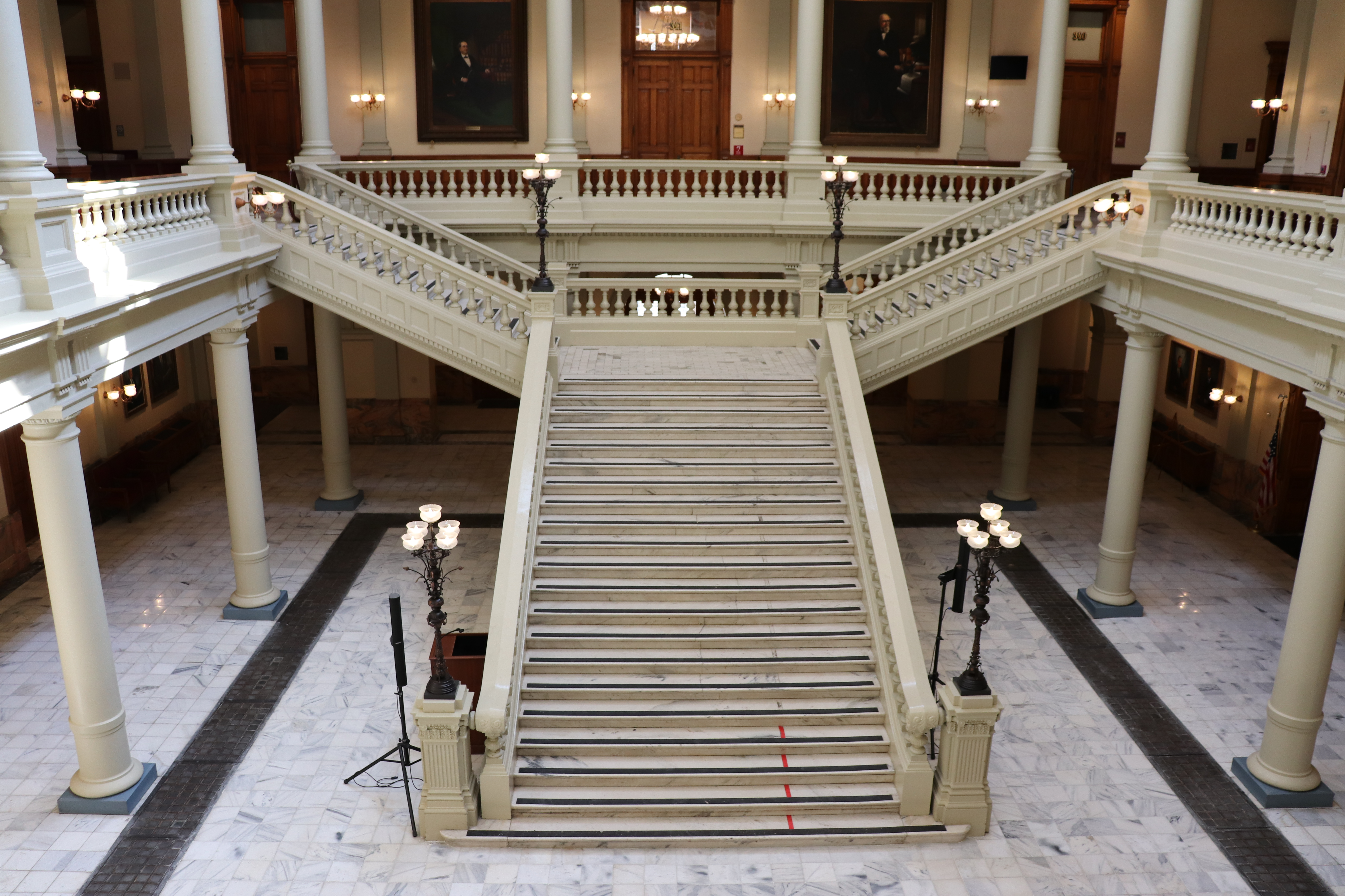 Georgia State Capitol Stairway