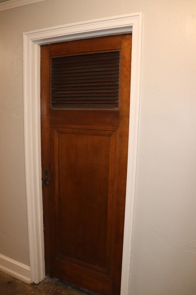 old hotel door