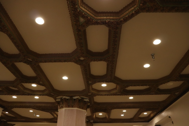 ceiling design of Thomas Jefferson building