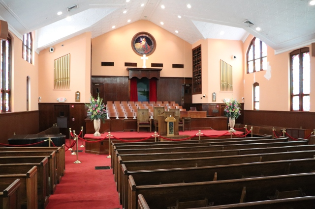 Ebenezer Baptist Church sanctuary
