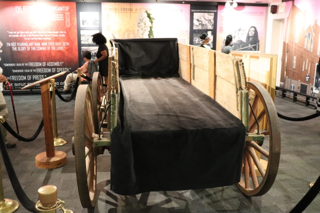 MLK funeral carriage