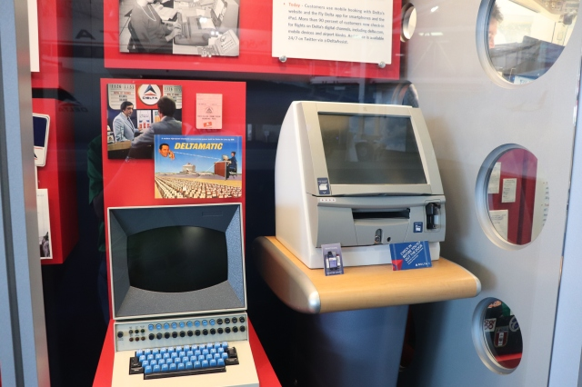 Delta Flight Museum Exhibits