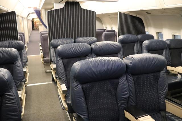 Cabin of Delta 767