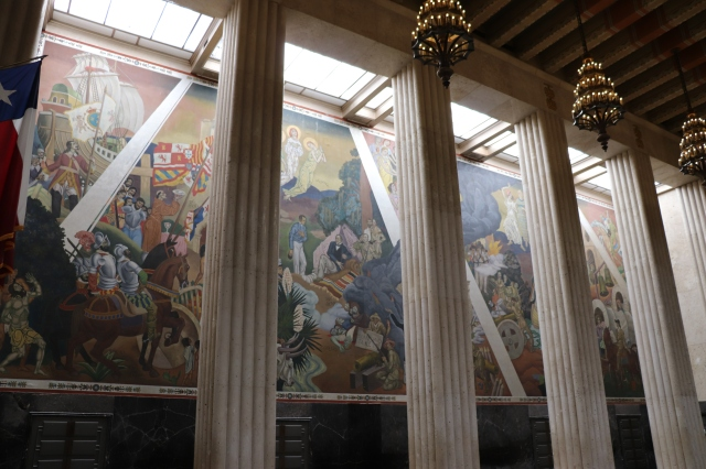 mural at hall of state