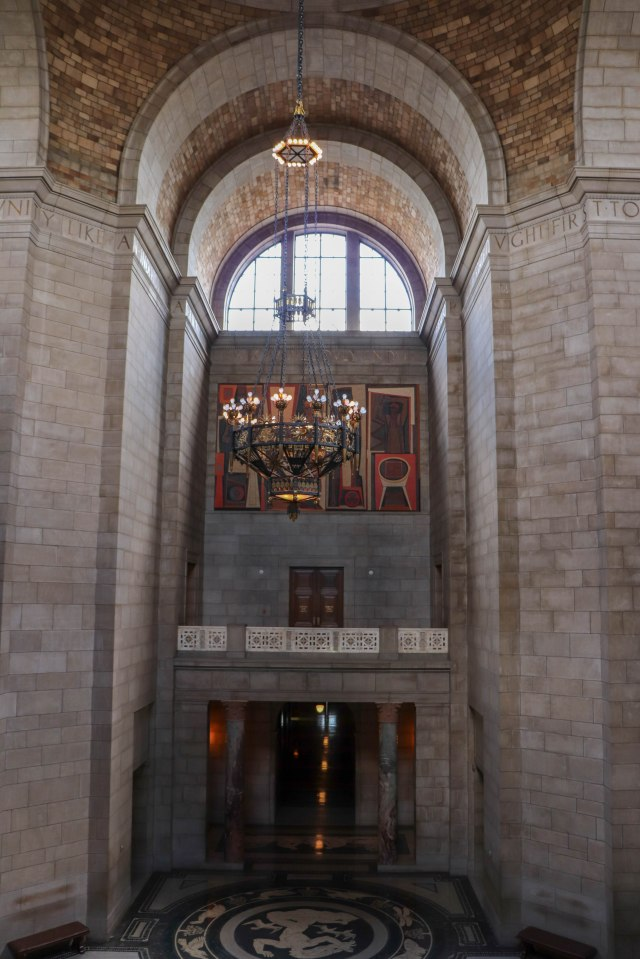 picture of the interior of Nebraska State Capitol