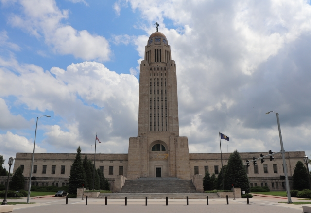 picture of the nebraska state capitol