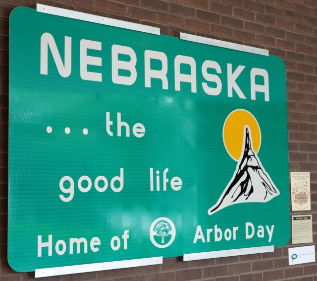 Nebraska Highway Sign