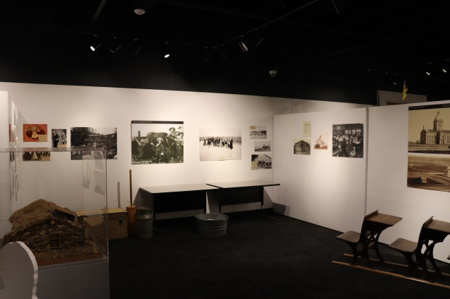 Nebraska History Museum Exhibit