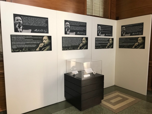 hall of state MLK exhibit