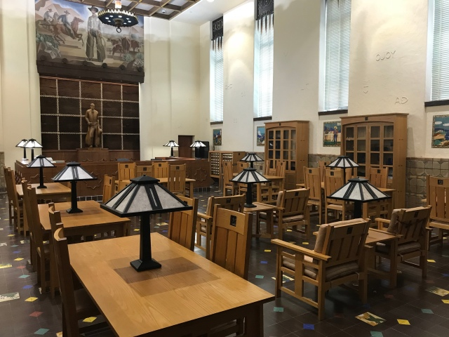 Dealey Library at Hall of State