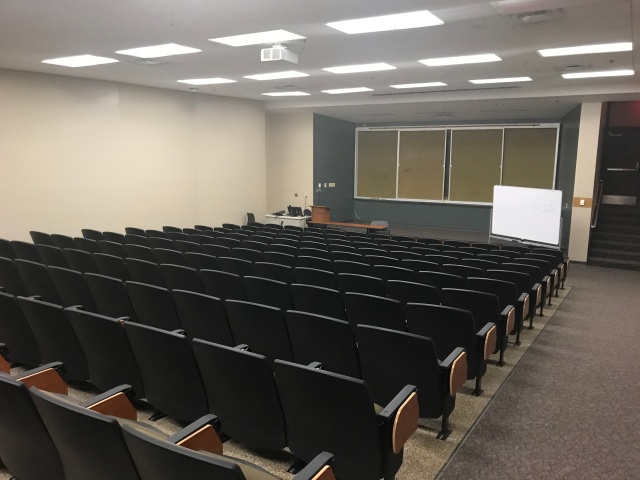 picture of a lecture hall at tarleton