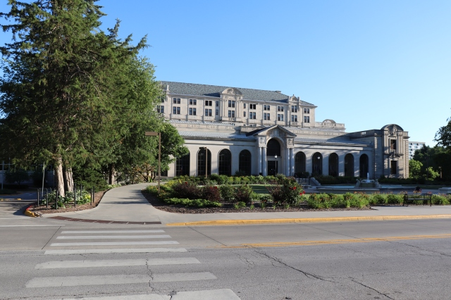 Memorial Union at Iowa State