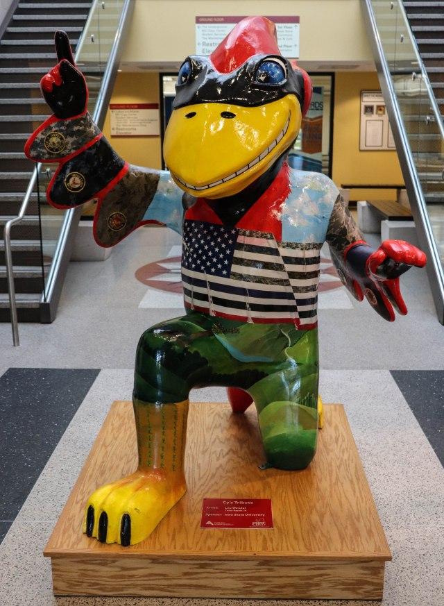 Iowa State University Cy Mascot