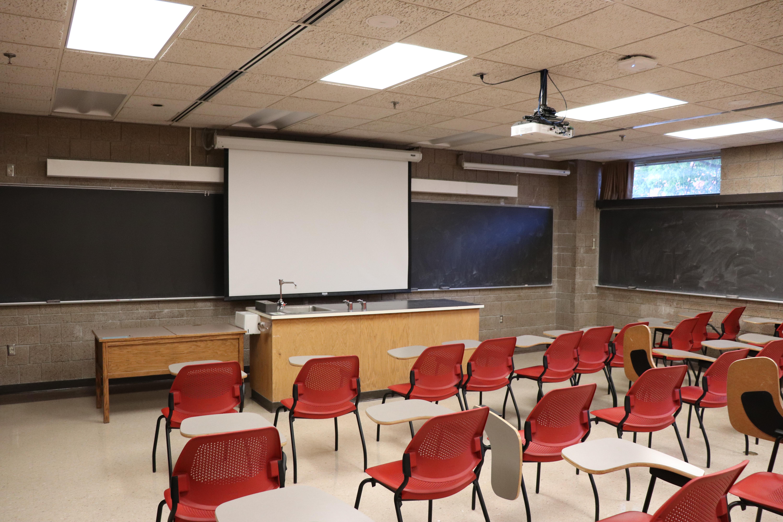 Iowa State Engineering Classroom