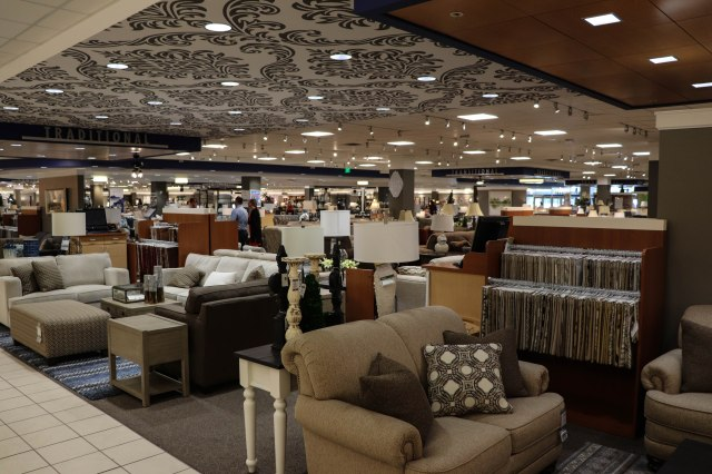 Nebraska Furniture Mart interior