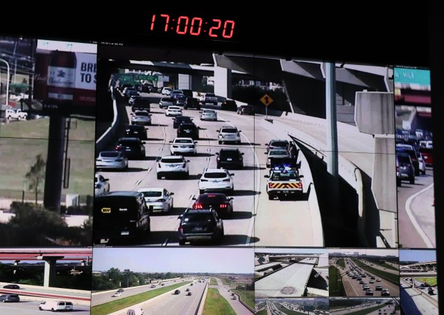 NTTA Safety Operations Center Video Wall