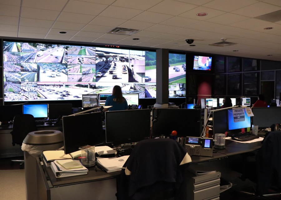 NTTA Safety Operations Center Floor