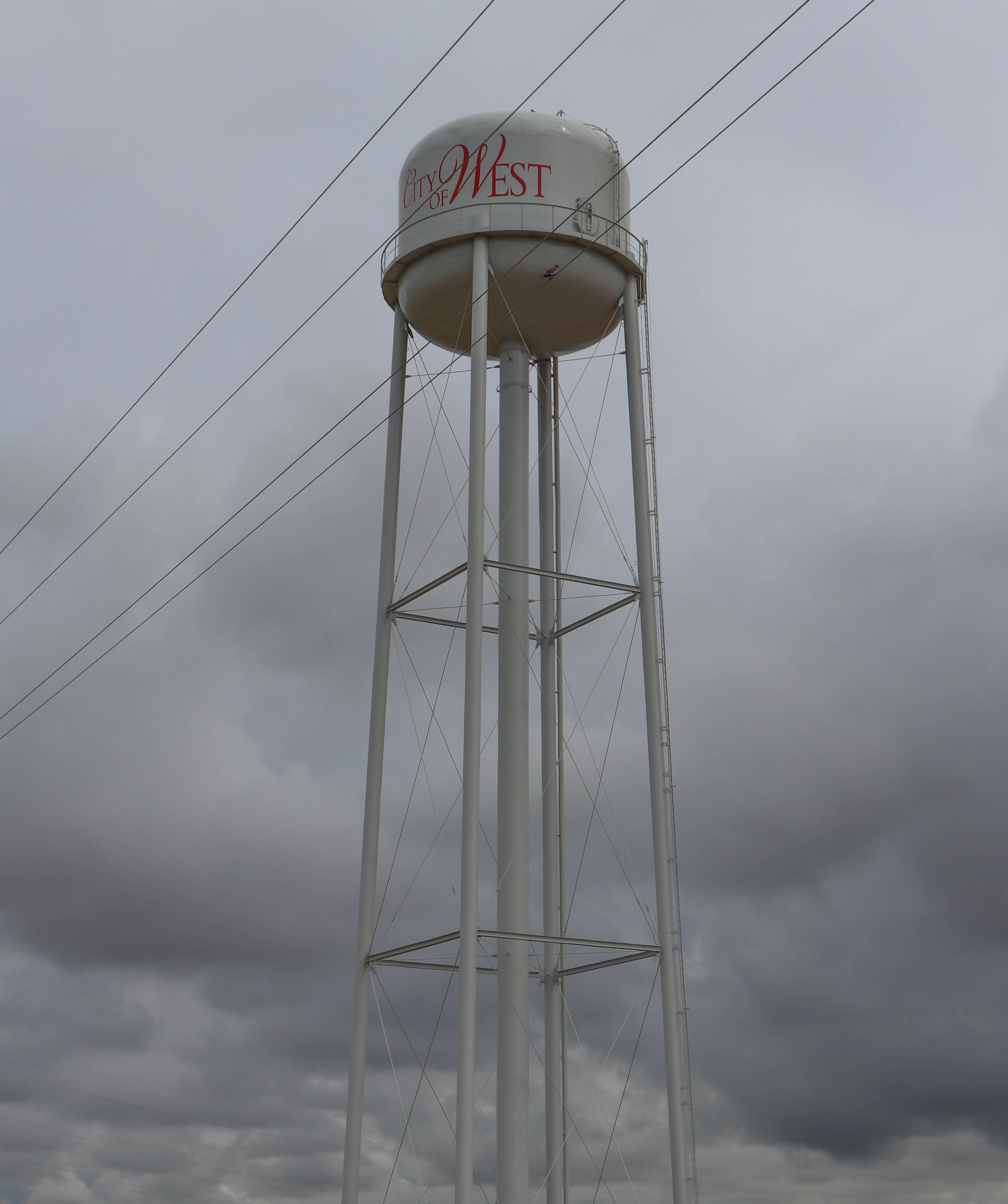 West, TX Water Tower