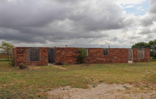 West, Texas abandoned duplex