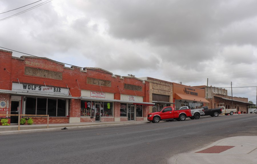 downtown of West, Texas