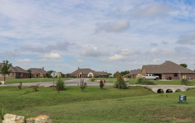 photo of homes in dish texas