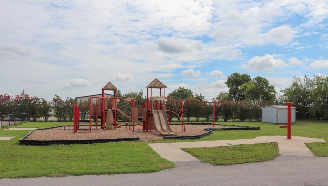 picture of a playground in dish texas