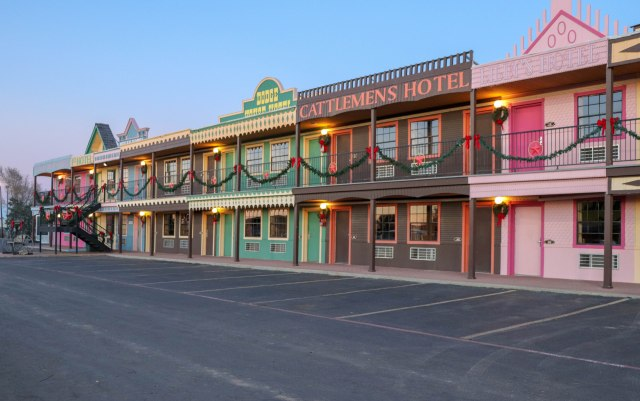Big Texan hotel