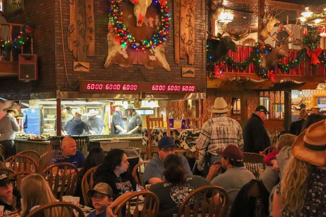 The Big Texan Steak Ranch dining room