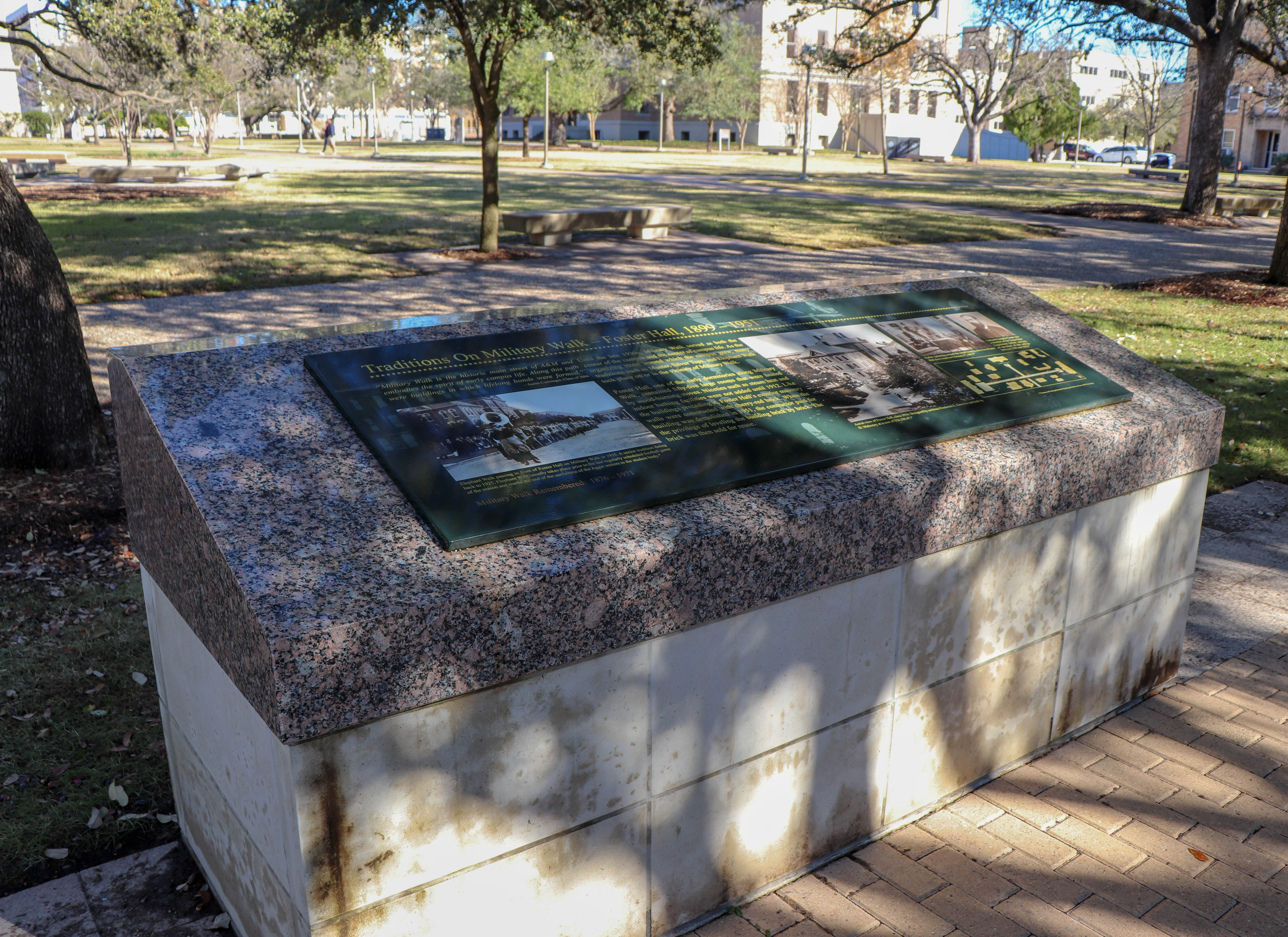 Military Walk at Texas A&M