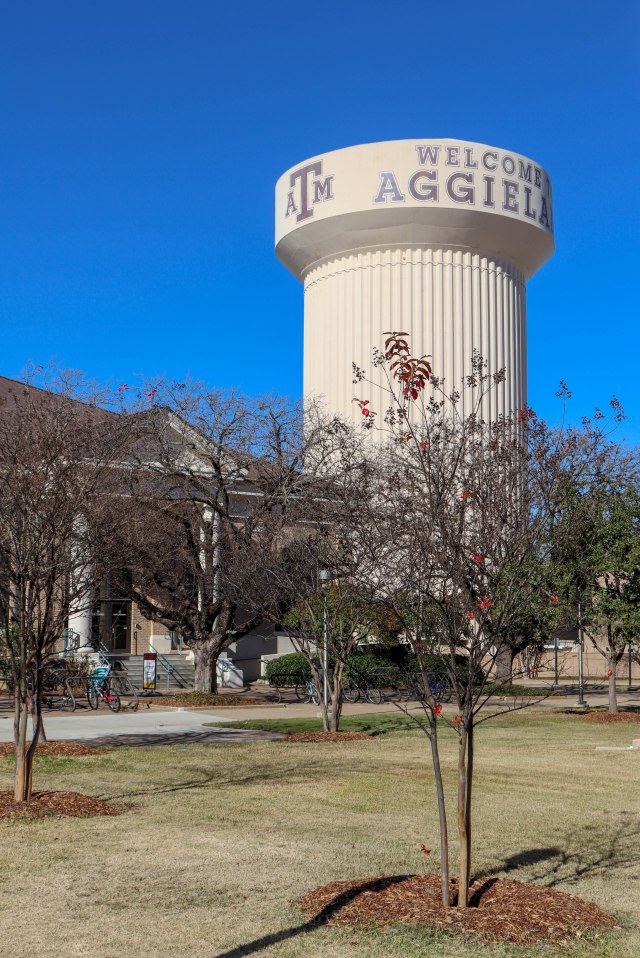 Texas A&M water tower