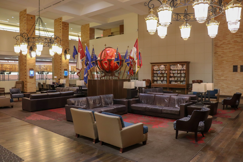 Memorial Student Union Flag Room