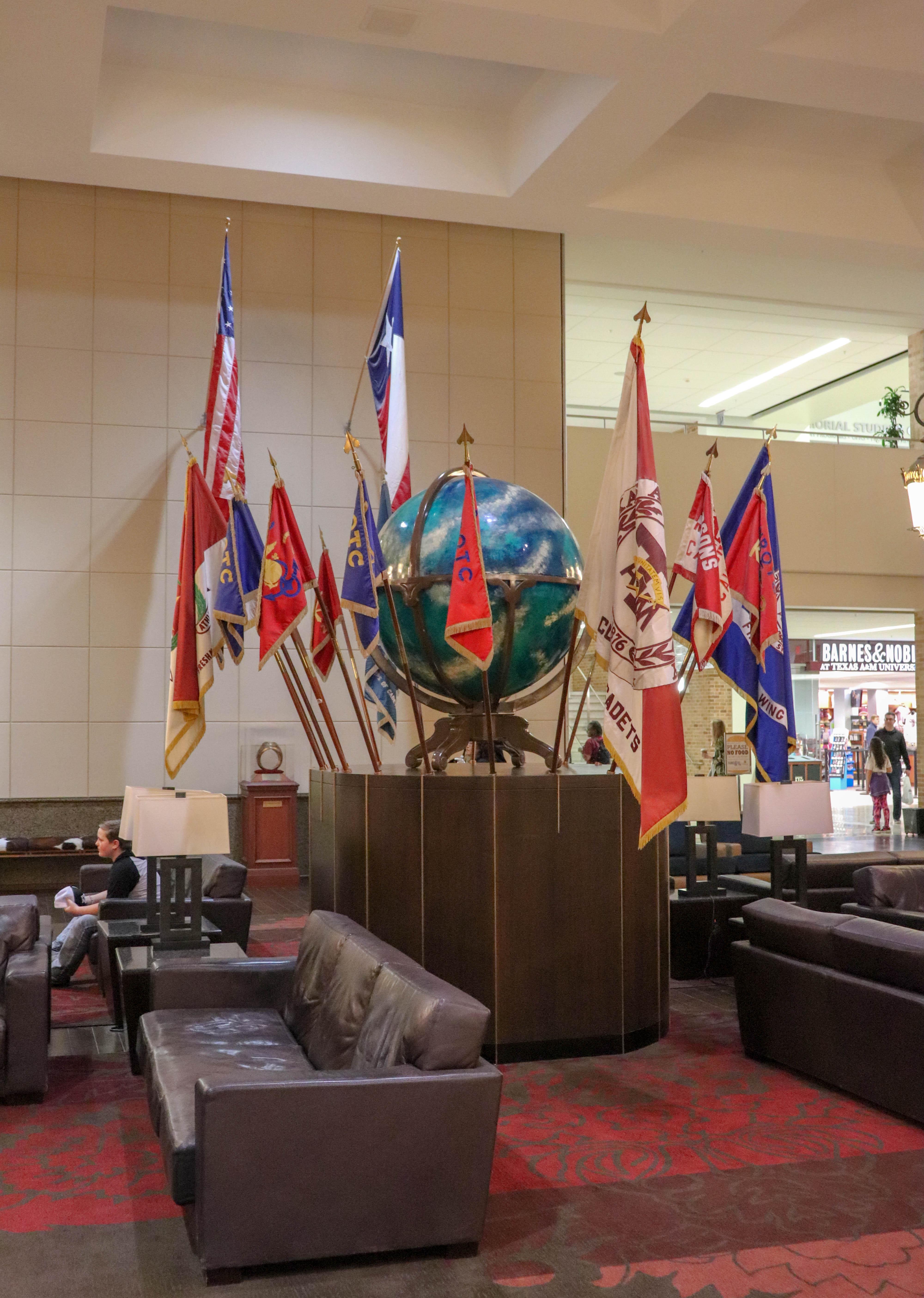 Memorial Student Center Flag Room