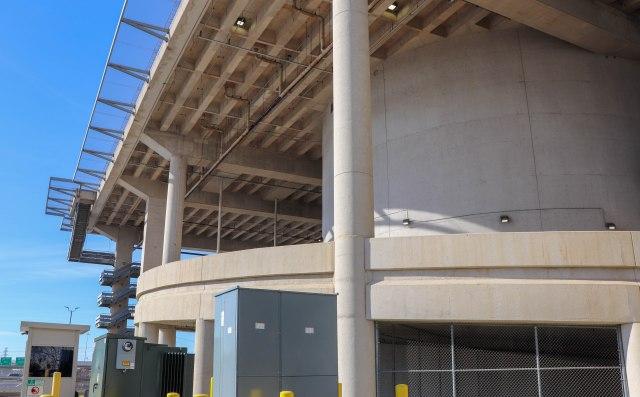 Dallas CBD Vertiport entrance
